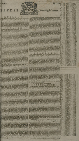 Leydse Courant 1745-09-29