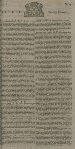 Leydse Courant 1739-04-10