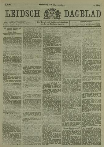 Leidsch Dagblad 1909-11-16