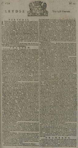 Leydse Courant 1734-01-22
