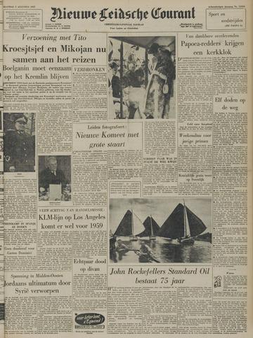 Nieuwe Leidsche Courant 1957-08-05