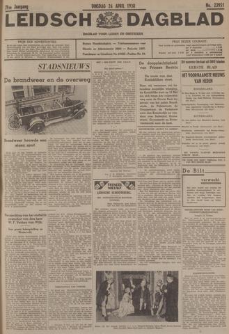 Leidsch Dagblad 1938-04-26