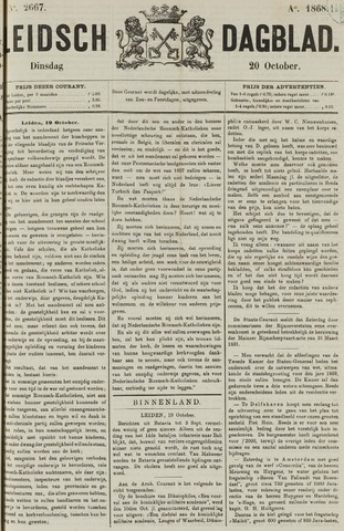 Leidsch Dagblad 1868-10-20