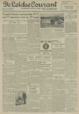 Leidse Courant 1949-12-09