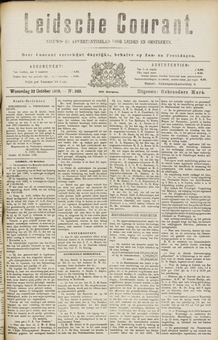 Leydse Courant 1889-10-23