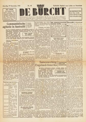 De Burcht 1945-09-29