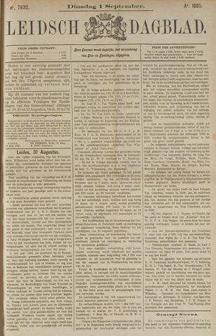 Leidsch Dagblad 1885-09-01