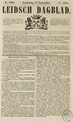 Leidsch Dagblad 1863-09-17