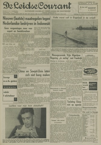 Leidse Courant 1958-09-20