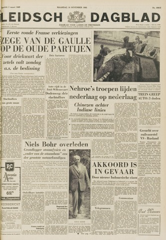 Leidsch Dagblad 1962-11-19