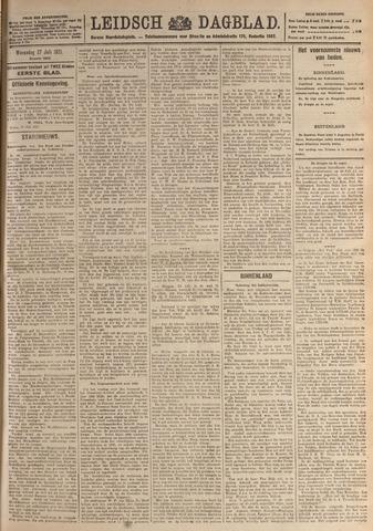 Leidsch Dagblad 1921-07-27