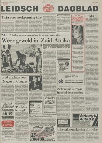 Leidsch Dagblad 1985-11-22