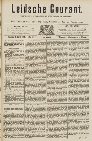 Leydse Courant 1887-04-05