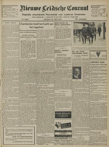 Nieuwe Leidsche Courant 1938-06-24