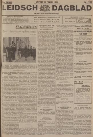 Leidsch Dagblad 1938-02-23
