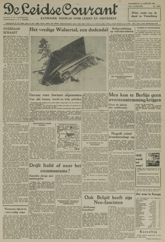 Leidse Courant 1954-01-14