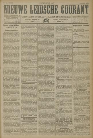 Nieuwe Leidsche Courant 1927-05-21