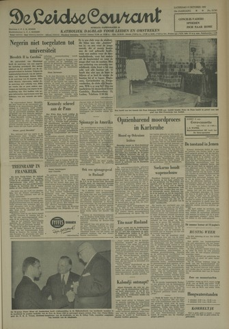 Leidse Courant 1962-10-06