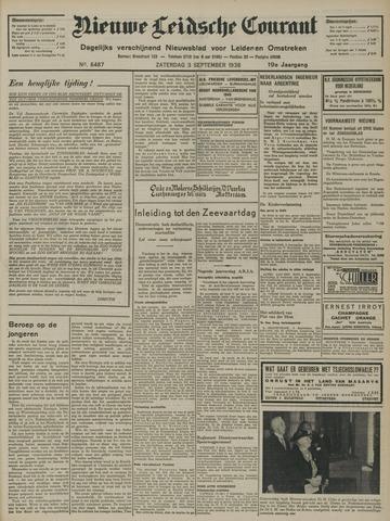 Nieuwe Leidsche Courant 1938-09-03