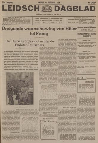 Leidsch Dagblad 1938-09-13