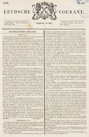 Leydse Courant 1850-05-10
