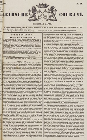 Leydse Courant 1885-04-02