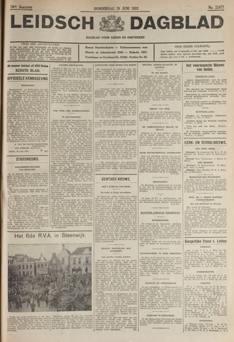 Leidsch Dagblad 1933-06-29
