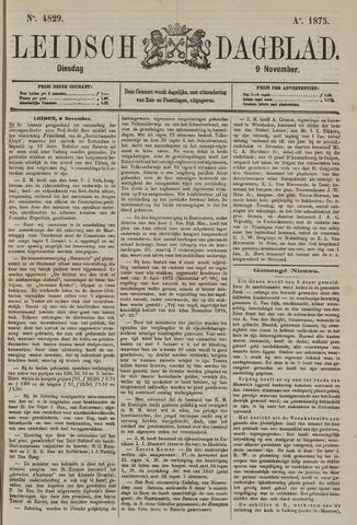 Leidsch Dagblad 1875-11-09
