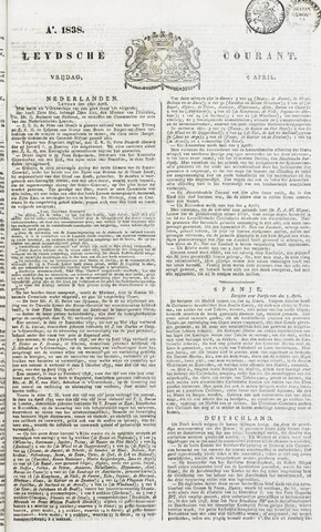 Leydse Courant 1838-04-06