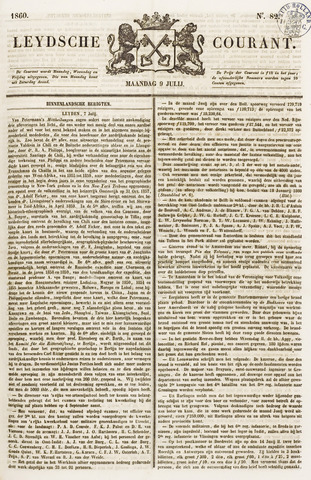 Leydse Courant 1860-07-09