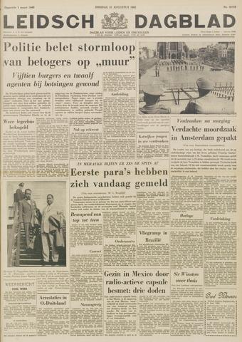 Leidsch Dagblad 1962-08-21