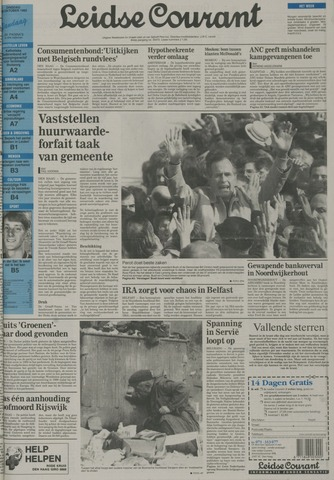 Leidse Courant 1992-10-20
