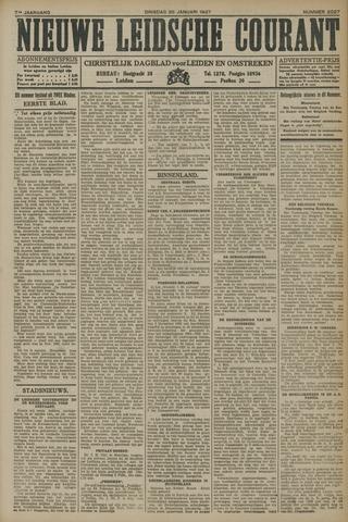 Nieuwe Leidsche Courant 1927-01-25