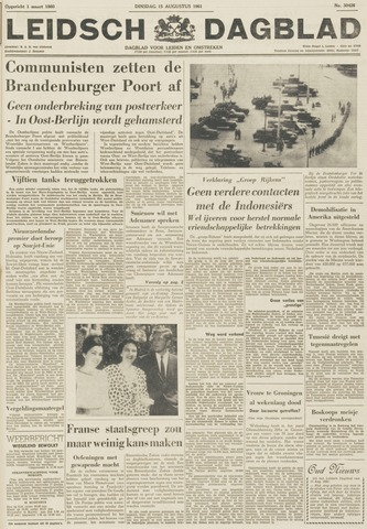 Leidsch Dagblad 1961-08-15