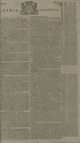 Leydse Courant 1745-11-24