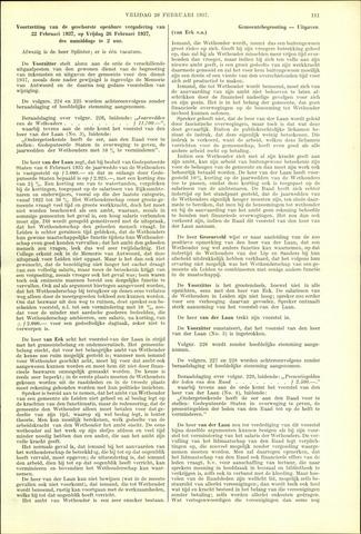 Handelingen van de Raad 1937-02-26