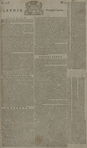 Leydse Courant 1748-05-03
