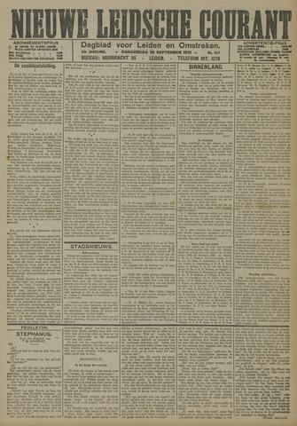 Nieuwe Leidsche Courant 1921-09-29