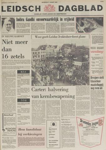 Leidsch Dagblad 1977-10-04