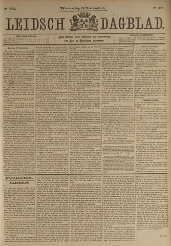 Leidsch Dagblad 1897-11-03