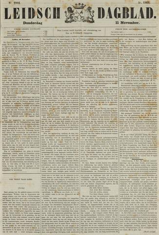 Leidsch Dagblad 1869-11-11