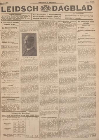 Leidsch Dagblad 1926-01-12