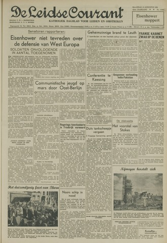 Leidse Courant 1951-08-13