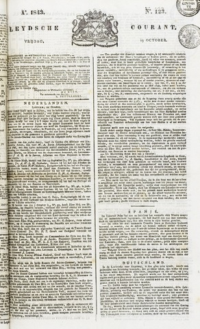 Leydse Courant 1843-10-13