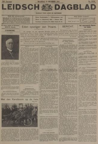 Leidsch Dagblad 1935-12-23