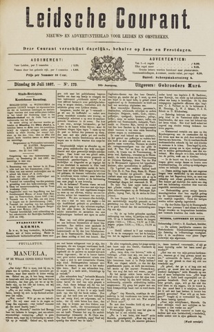 Leydse Courant 1887-07-27