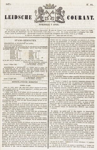 Leydse Courant 1871-04-05