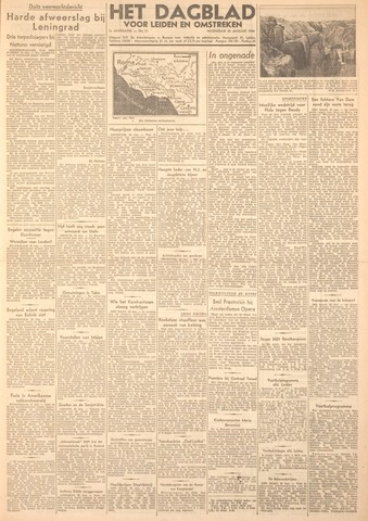 Dagblad voor Leiden en Omstreken 1944-01-26