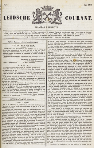 Leydse Courant 1875-08-09