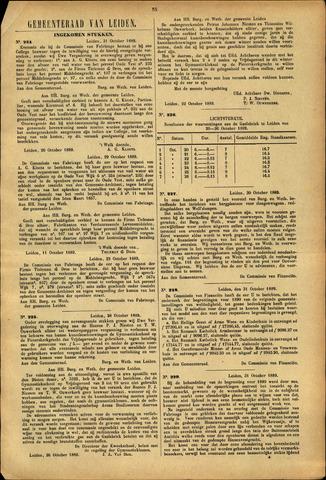 Handelingen van de Raad 1889-10-31